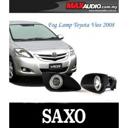 SAXO Fog Lamp Spot Light: TOYOTA VIOS 2007-2012 Made In Korea [TY170C]