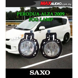 SAXO Fog Lamp Spot Light: PERODUA ALZA Made in Korea [PD04]