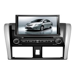 "TOYOTA VIOS 2013 - 2016 DYNAWIN 8"" Full HD Double Din GPS DVD VCD MP3 CD USB SD Bluetooth TV Player Free Camera & TV Antenna"