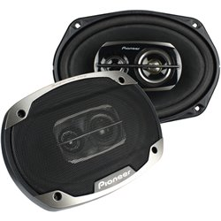 """ORIGINAL PIONEER TS-6975 V2 6""""X9"""" 3-Way Champion Series Mid Bass Speaker (Use in Competition)"""