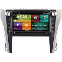 "TOYOTA CAMRY XV-50 2.0/ 2.5 2012 - 2016 DYNAVIN 8"" Double Din GPS DVD MP4 MKV MP3 CD USB SD BT Player FOC Camera & TV Antenna"