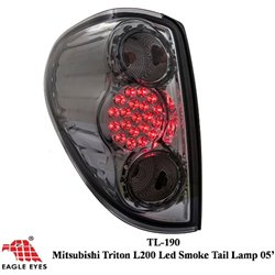 MITSUBISHI TRITON L200 2005 - 2015 EAGLE EYE Full Smoke LED Tail Lamp [TL-190]