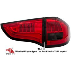 MITSUBISHI PAJERO SPORT IO 2009 - 2015 EAGLE EYES Red Smoke GCI LED Tail Lamp [TL-142]