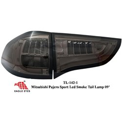 MITSUBISHI PAJERO SPORT IO 2009 - 2015 EAGLE EYES Full Smoke GCI LED Tail Lamp [TL-142-1]