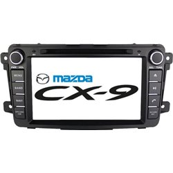 "MAZDA CX-9 2006 - 2015: DLAA 8"" Full HD Double Din GPS DVD CD USB SD BLUETOOTH TV Player FREE Rear Camera + TV Antenna"