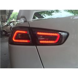 MITSUBISHI LANCER GT/ EVO X 10/ PROTON INSPIRA 2007 - 2016 EAGLE EYES Full Smoke A-Concept LED Light Bar Tail Lamp [TL-169-3]
