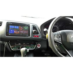"HONDA HRV, VEZEL, XRV DYNAVIN 8"" Double Din Android Mirror Link GPS DVD CD USB SD BT TV Player FREE Rear Camera + TV Antenna"
