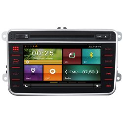 "MOST VOLKSWAGEN DYNAVIN 7"" Double Din Full Touch Panel 2-Way Android Mirror Link GPS DVD CD USB SD BT TV Player"