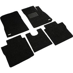 NISSAN ALMERA Custom Made Full Sets OEM Coil Mat Carpet (Black)