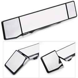 CARMATE 42.5cm Global Wide Angle Dual Adjustable Rear View Mirror Made in Japan