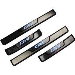 HONDA CRV 2013 - 2017 Stainless Steel LED Door Side Sill Step Plate Made In Taiwan