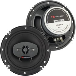 "NAKAMICHI NSE 66 6.5"" 2-Way 25W RMS 380W Car Coaxial Speaker"
