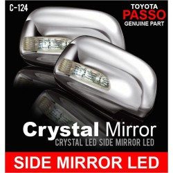 GENUINE PASSO Crystal Side Mirror LED Signal Light For MYVI [C-124]