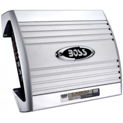 ORIGINAL BOSS AUDIO CHAOS EXXTREME 150W RMS x 4 Channel Speaker Amplifier Remote Subwoofer Level Control Made in USA