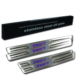SUZUKI SWIFT 2013 Stainless Steel LED Door Side Sill Step Plate Made In Taiwan