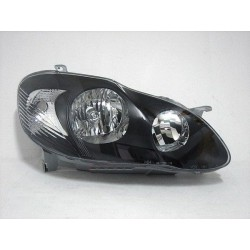 TOYOTA ALTIS 2001 - 2007 DEPO Black Face Crystal Head Lamp