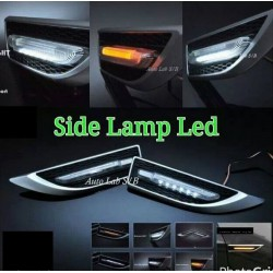 YCL 3 in 1 Universal Side Fender LED Light Bar DRL Day Time Running Light + Signal Indicator + Welcome Light [YCL-723] 1