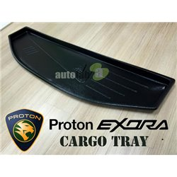PROTON EXORA: ORIGINAL ABS Rubber Anti Non Slip Rear Trunk Boot Cargo Tray Made in Malaysia