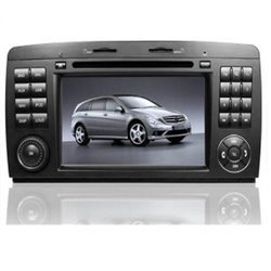 "MERCEDES BENZ R Class W251/ R300 2006 - 2014: DLAA 7"" HD Double Din GPS DVD CD USB SD BT Player FREE Rear Camera + TV Antenna"