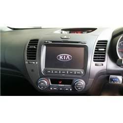 "KIA CERATO K3 2013 - 2017 DLAA 8"" Full HD Double Din GPS DVD CD USB SD BLUETOOTH TV Player FREE TV Antenna"