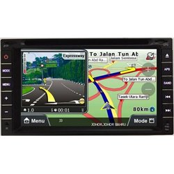"PROTON SAGA BLM, SE, FL, FLX, SV 2008 - 2015 DLAA 7"" Double Din DVD VCD MP3 CD USB SD BT GPS Player Free Camera & TV Antenna"
