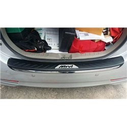 PERODUA MYVI Lagi Best, ICON 2011 - 2016 Chrome ABS Rear Guards Car Bumper Trunk Protector Foot Plate [RS-6011]