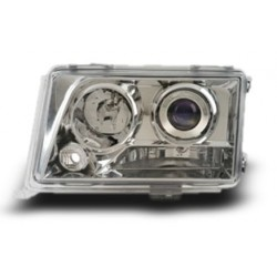 EAGLE EYES MERCEDES-BENZ E-W124 '94 - '96 CHROME Projector Head Lamp + Corner Lamp [HL-002-BENZ]