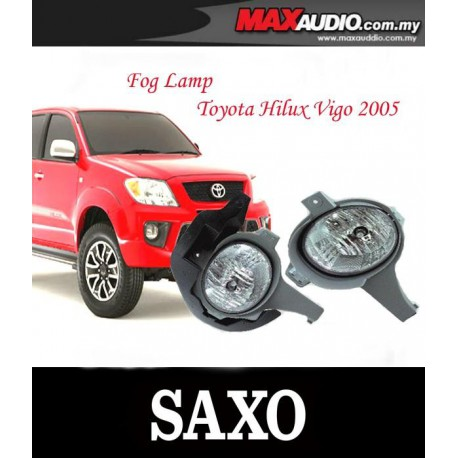 SAXO Fog Lamp Spot Light: TOYOYA HILUX VIGO 2005-2008 Made in Korea [TY013P]