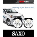 TOYOTA AVANZA 2007 - 2009 SAXO Fog Lamp Spot Light Made in Korea [TY133]