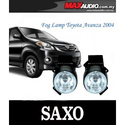 TOYOTA AVANZA 2004 - 2006 SAXO Fog Lamp Spot Light Made in Korea [TY033]