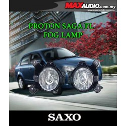 SAXO Fog Lamp Spot Light: PROTON SAGA FL FLX Made in Korea [PR23]