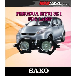 SAXO Fog Lamp Spot Light: PERODUA MYVI SE1 Made in Korea [PD03]