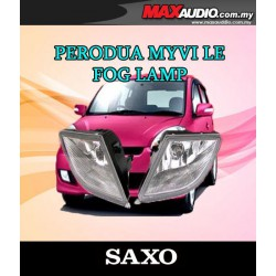PERODUA MYVI LE 2009 - 2010 SAXO Fog Lamp Spot Light Made in Korea [PD02]
