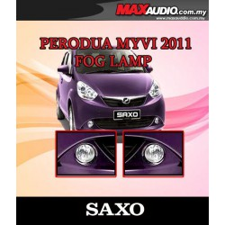 SAXO Fog Lamp Spot Light: PERODUA MYVI 2011 Made in Korea [PD05]