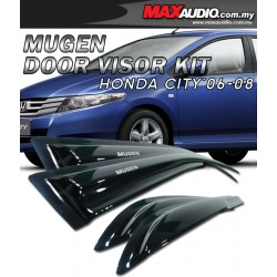 HONDA CITY 03-08 Mugen Style High Quality Anti UV Light Door Visor
