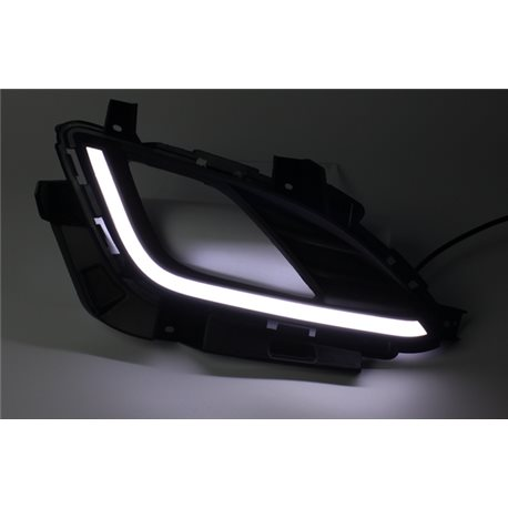 Buy hyundai elantra md fl 2015 2016 fog lamp cover with led hyundai elantra md fl 2015 2016 fog lamp cover with led light bar day time aloadofball Choice Image