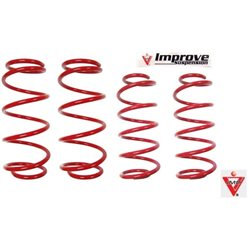 HONDA STREAM RSZ RN6 2007 - 2015 IMP IMPROVE Lowered Comfort Sport Spring [IMP-RN6]