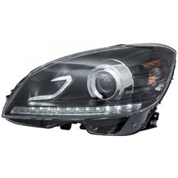 MERCEDES BENZ W204 C-Class 2008 - 2015 EAGLE EYES DRL Day Time Running Light Projector Head Lamp [HL-044-BENZ]