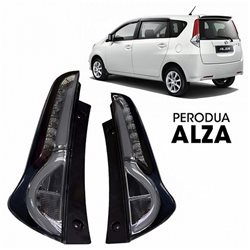 PERODUA ALZA LED Light Bar Tail Lamp (Smoke)