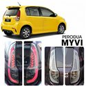 PERODUA MYVI Lagi Best/ ICON 2011 - 2016 LED Light Bar Tail Lamp (Smoke)