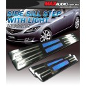 MAZDA 6 GH 2008 - 2011 Stainless Steel LED Door Side Sill Step Made In Taiwan