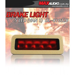 UNIVERSAL FITTING 5 LED F1 Style 3rd Brake Light [DL-81032B]