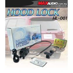 GENUIS SECURITY Electronic Anti Theft Bonnet Hood Lock [HL-001]