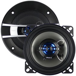 "ORIGINAL SONY XPLOD XS-GTF1026 4"" 100W 2-Way Coaxial Speaker for PERODUA MYVI, MERCEDES BENZ, PROTON SAGA2, WIRA"