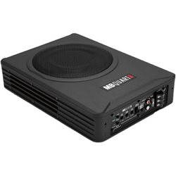 "ORIGINAL MB QUART ONYX MBPS8152 8"" 450W Powered Active Subwoofer with Bass Controller"