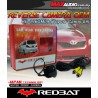 REDBAT RB-196CM09 170º Color CCD 3 IR Rear Camera: TOYOTA CAMRY 09