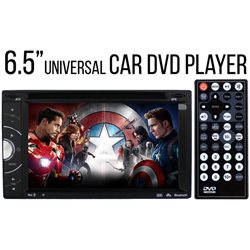 "SKY AUDIO 6.5"" Full HD Double Din DVD VCD MP3 CD USB SD Bluetooth TV Player [J-6219]"