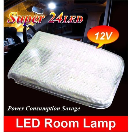 MOST TOYOTA &  PERODUA Super Bright OEM LED Cockpit Cabin Dome Room Lamp (Fully Plug and Play) [TYT-RL]