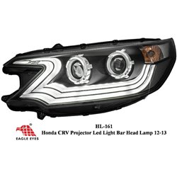HONDA CRV 2013: EAGLE EYES LED Light Bar Projector Head Lamp [HL-161]