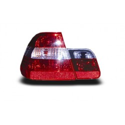EAGLE EYES BMW E46 '02 - '05 CRYSTAL RED/CLEAR/RED TAIL LAMP [TL-002-BMW]